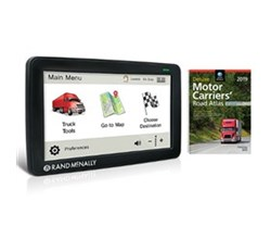 Rand McNally IntelliRoute TND 730LM tnd 730lm bundle w 2019 deluxe motor carriers road atlas